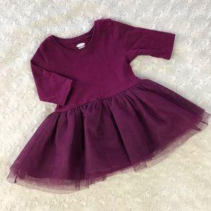 Old Navy Purple Tutu Dress Size 0-3 Months